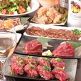 【渋谷で圧倒的なコスパ☆】肉横丁だからこそ実現するコストパフォーマンス!!グランドメニュー食べ放題なんと...2,480円!!2時間飲み放題付3,480円♪渋谷で飲むなら肉横丁の肉広場◎