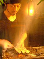串焼きは1本100円~