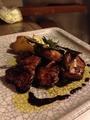 料理メニュー写真平飼い香鶏のバルサミコチキン