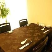 4名様でご着席頂けるお席です。テーブルが大きいので、6名様までご着席可能です♪