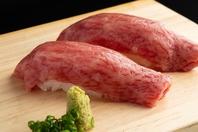 【巷で大人気】「肉の宝」平井牛を贅沢に肉寿司で・・
