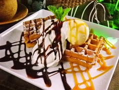 waffle cafe GRAND PLACEの写真