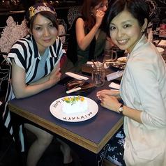 女子会・誕生日パーティにもおすすめ♪サプライズケーキ付のコースもご用意◎