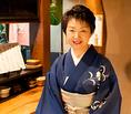 女将の早坂さん、接客・マネージメントを担当。杜都のこだわりや思いのお話しを聞いてみてわ♪お気軽にお越しくださいませ