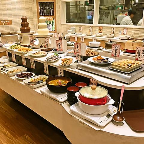 女性に人気のヘルシー料理や豊富なデザート♪平日ランチは16時迄フリータイム制♪