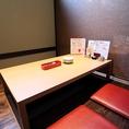 プライベート感満載の完全個室の掘りごたつ席をご用意いたしておりますので、周りを気にせずにはしゃげます♪