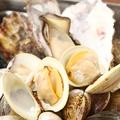 料理メニュー写真色々貝たちの缶々蒸し