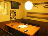 【1F】ゆったりと寛げるテーブル席♪仕事帰りにちょっと一息。