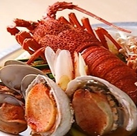 【新鮮な海鮮】