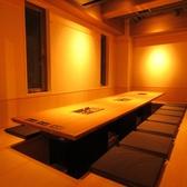 掘りごたつ式完全個室(御宴会可)