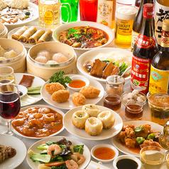 金鳳酒家のコース写真