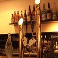 生ビールのサーバーにもこだわり。美味しい一杯をご提供します。
