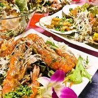 本格タイ料理を気軽に味わえるコースがたくさん!