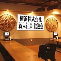 京橋での二次会におすすめ!感動!横断幕無料サービス