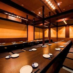 博多で大宴会するなら是非当店!最大106名様まで個室で宴会が可能です!打ち上げや接待など数多くの宴会のご予約を頂いております!席に限りがございますので、大宴会ご検討のお客様はお早めにご連絡のほど宜しくお願い致します。