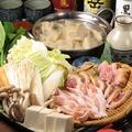 料理メニュー写真名古屋コーチン水炊き鍋