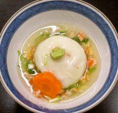 料理メニュー写真大和芋の饅頭
