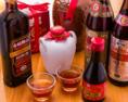 多彩な中国酒は約10種。紹興酒をソーダで割ったすっきりとしたのどごしの『ドラゴンハイボール』もございます。
