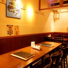 テーブル席だから宴会の人数は臨機応変に対応可能。