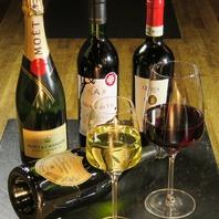 ■ワインやシャンパンもご用意しております。