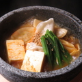料理メニュー写真麻辣火鍋炊き餃子 6個