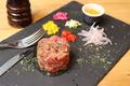 料理メニュー写真OGINO特製!熟成肉のタルタル