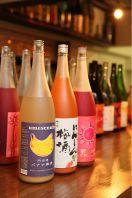 豊富な果実酒100種以上!