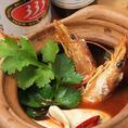 世界三大スープ【トムヤムクン】など名高いメニューからご当地メニューまで幅広いラインナップ。