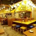 楽しい餃子de女子会♪は当店にお任せください!まだオープンしたばかりの綺麗な店内でワイワイ宴会を楽しみましょう♪元気なスタッフが笑顔でお迎えしてくれますよ!