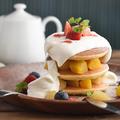 料理メニュー写真パンケーキ Sサイズ(3枚)/Mサイズ(5枚) 980円/1280円