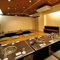 【個室完備】最大72名までOKの大型個室もご用意!会社宴会はもちろん、お昼宴会も承っております。ご予約はお早めにどうぞ!