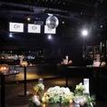 歓送迎会や各種宴会・パーティー、結婚式二次会にも最適なラグジュアリー空間