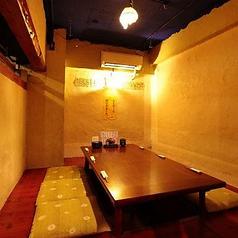 【小上がり掘りごたつ個室】は7名様までの特等席♪その他、テーブル席やお座敷個室など各シーンでもお使いできます!!