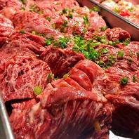 こだわりのお肉の数々…米沢牛を贅沢に堪能!
