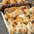 料理メニュー写真串盛り7種