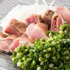 料理メニュー写真軍鶏たたきS/L