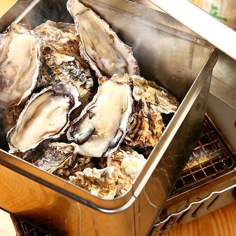 牡蠣の食べ放題!年末年始は開催を制限させて頂いております。詳しくはお電話にて。