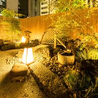 ◆都会の喧騒を忘れさせてくれる庭園◆飲み会に◎