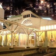 旧新橋停車場を再現 豪華な外観・・・☆