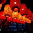 中国感溢れる店内