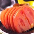 料理メニュー写真桃太郎トマトのスライス
