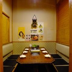 【大人気★2~6名様個室】新大久保では珍しい複数タイプの個室が完備しております。