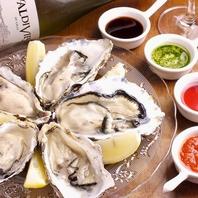 新鮮な生牡蠣が食べられる!