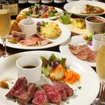 厳選和牛を堪能できるコース料理ディナーコース3500円~女子会コース3000円~