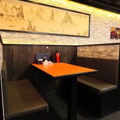 【テーブル】全34席