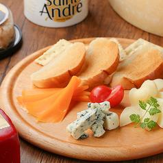 世界のチーズお任せ 3種/5種 盛りクラッカー付