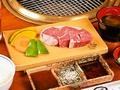 料理メニュー写真牛ロースステーキ定食