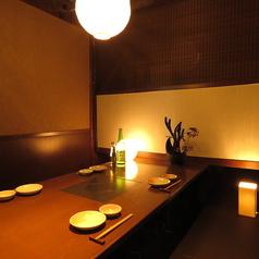 4名様テーブル★モニターも完備しております♪(写真は系列店のものです)
