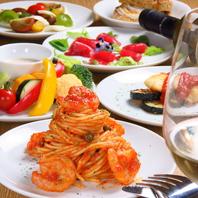 全世界から取り入れた食材でお料理を提供