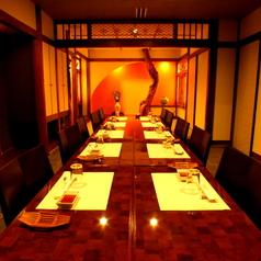 お食事会に最適な個室。